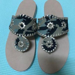 Jack Rogers Sandals. Size 8